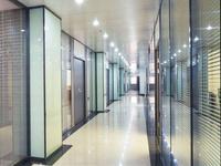 办公室百叶玻璃隔墙